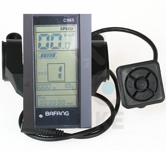 The C965 is usually a little extra but has backlighting and a watt meter.