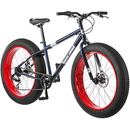 The Mongoose Dolomite, the cheapest Multigeared Fatbike on the market at $192 (shipped)