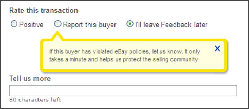 If you blackmail sellers you can get reported, but if your product has a problem and you ask for   help then leave feedback when the seller is unresponsive there is nothing wrong with that.