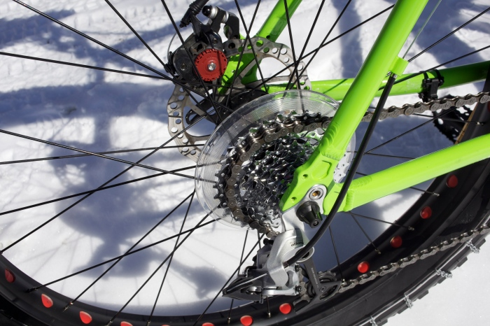 Brakes and Cassette are junk, plan on upgrading. What do you expect for $499?