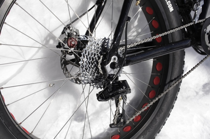 The 10 speed with the super skinny chain is sub-optimal. X9 Derailleur tends to loosen up and needs locktite on the main mounting bolt.