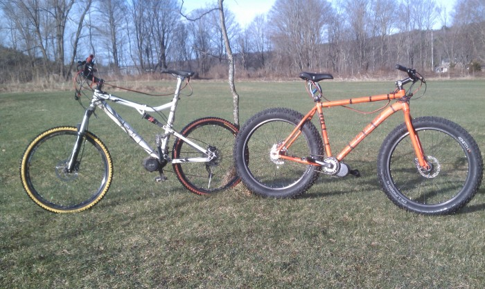 Which bike is more fun in the spring slop?