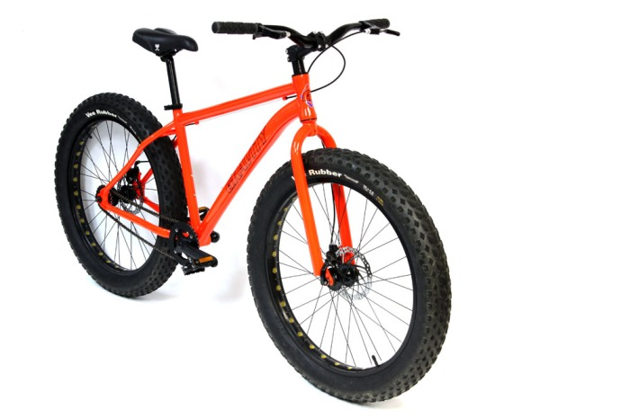 The Deadeye Monster, $400 shipped, with no tax from Bikes Direct.
