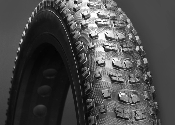 Finally Vee Rubber has created a creative tread pattern that doesn't suck.