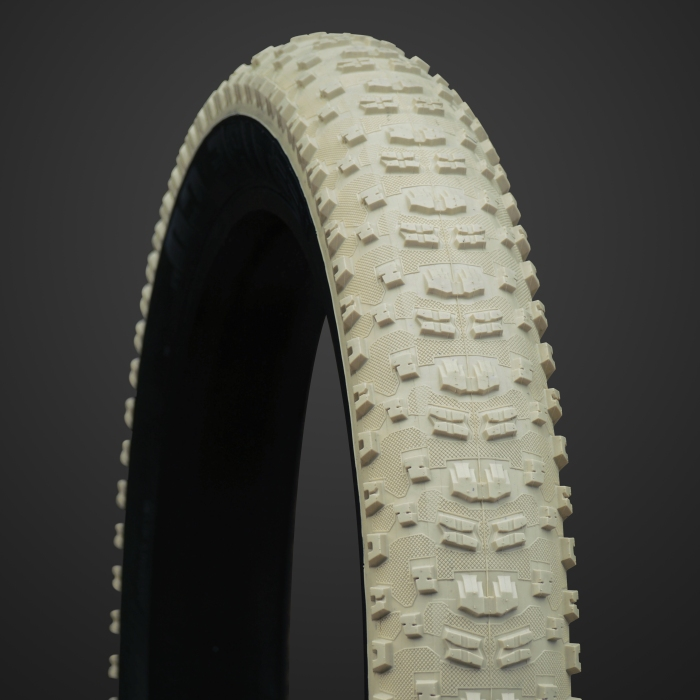 For those snow-camo bikes this tire comes in an off-white option.