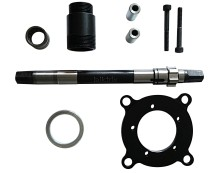 The Biktrix 100mm kit is a BBS02 with these parts installed and added to fit a 100mm fatbike bottom bracket.