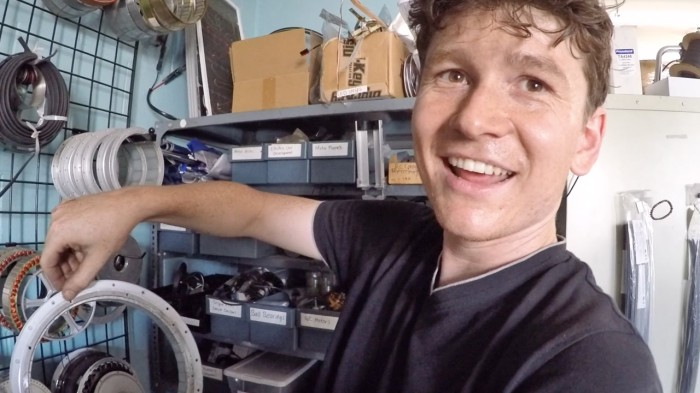 Justin from Grin tech took his passion for ebikes and made awesome products that do cool stuff