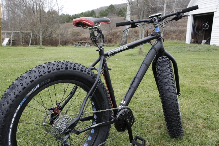 These tires look just plain awesome on any bike you can shoehorn them into.