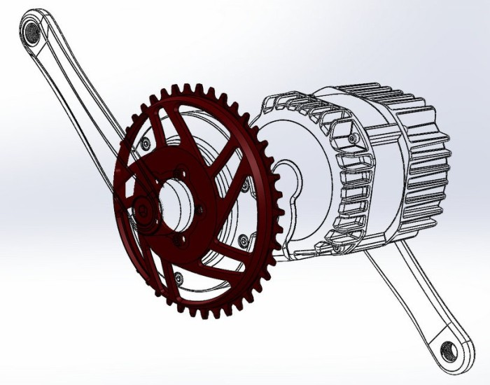 Lekkie had access to the BBSHD cad files to design their ring with