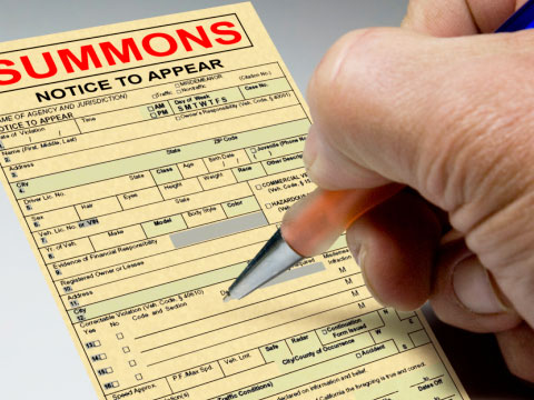 Any officer of the law can write you a summons for anything they want to. Deal with it.