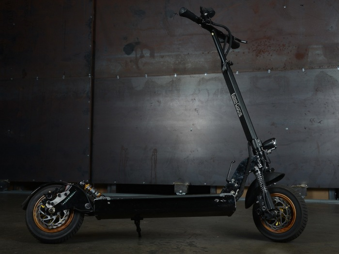 This kick scooter doesn't look like much but I assure you that after one ride you'll never look at kick scooters the same again