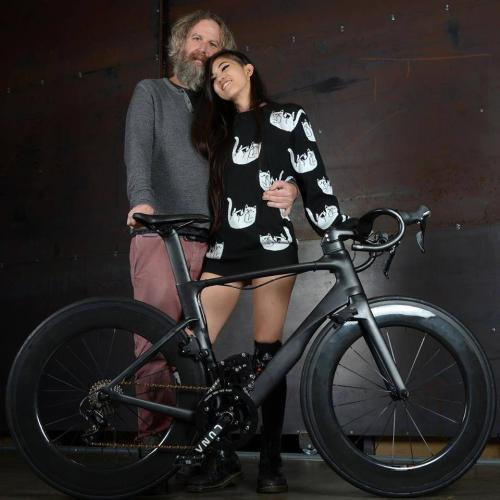 Ashley and Eric are the loving parents of the Lunacycle family