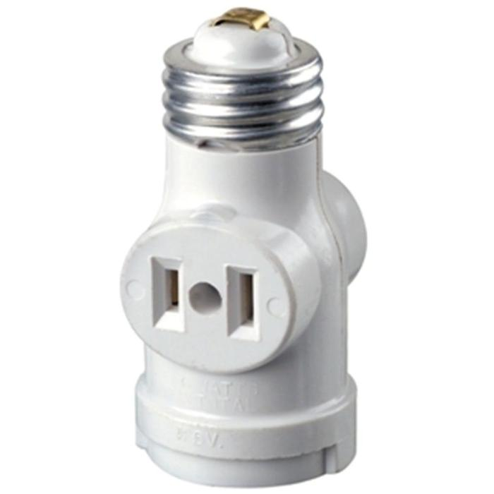 If you lose the ground plug on your cord then some other crazy options open up for you. I would not trust pulling more than 300 Watts through this $3 Home Depot special.