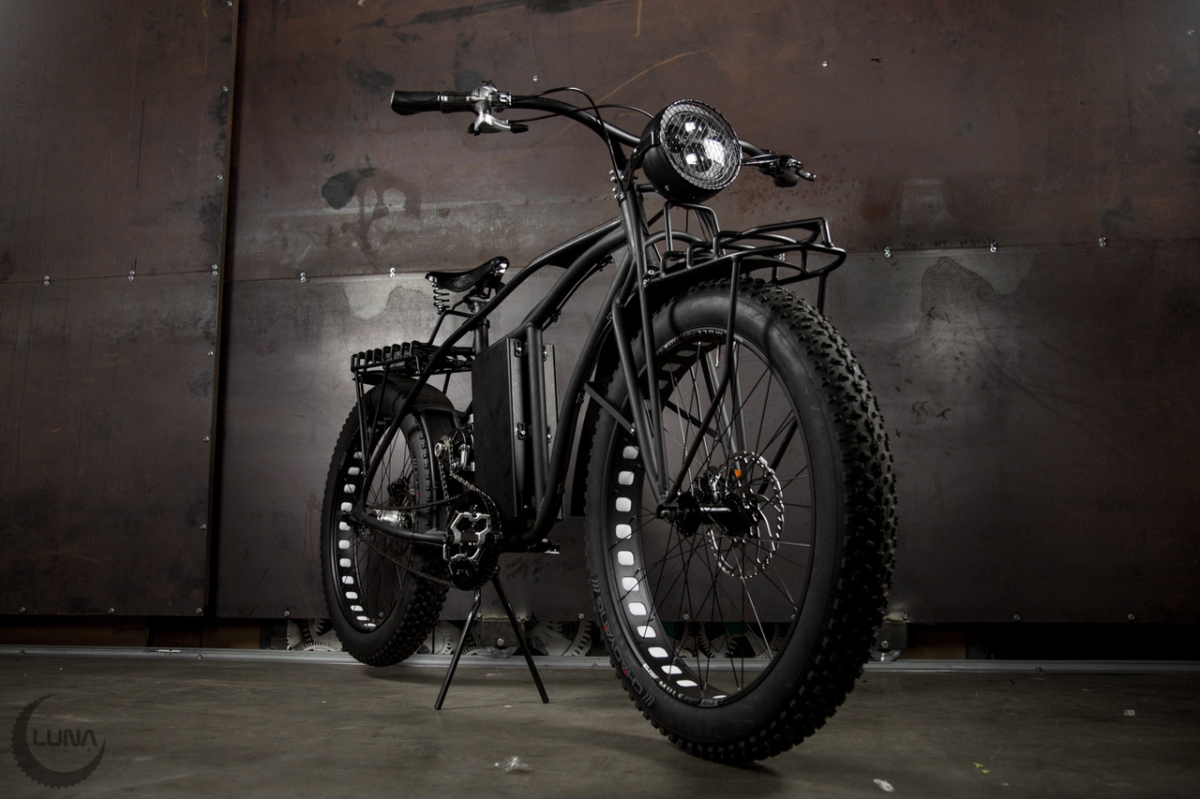 It's About Time You Slackers : The 5000W 72v Luna Rhino Cargo Fatbike