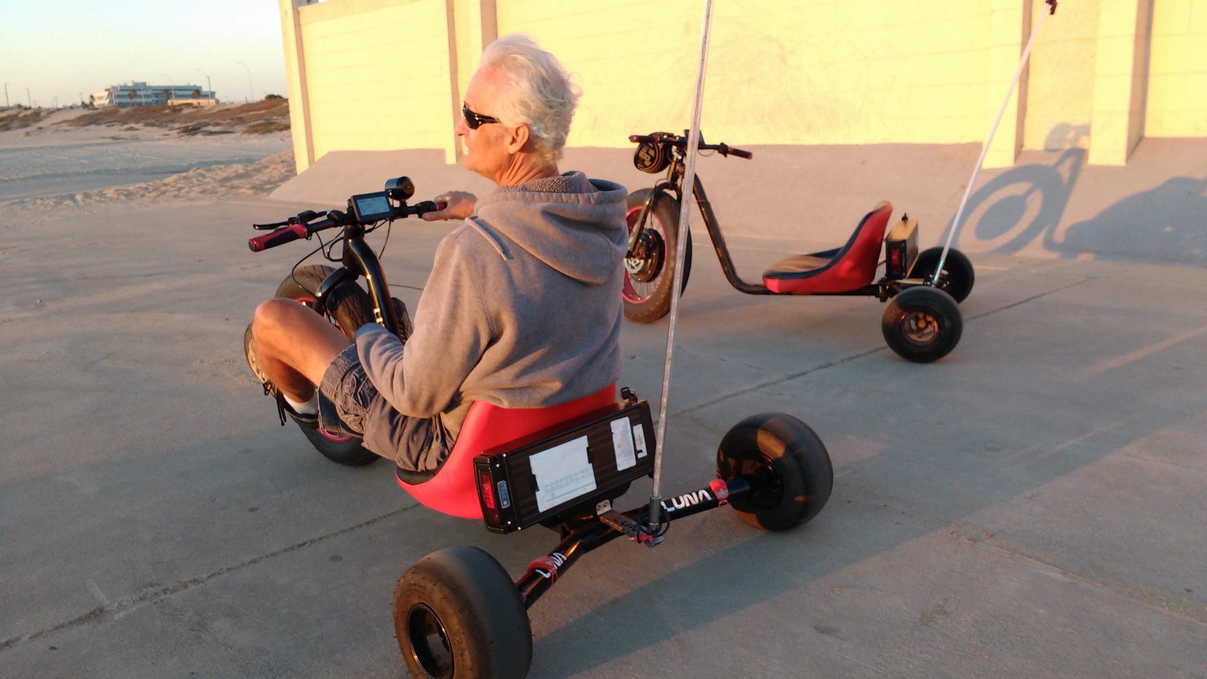 I Dream Of Drifting Lunacycle S Totally Insane 52v 20ah Drift Fat Trike Electricbike Blog Com