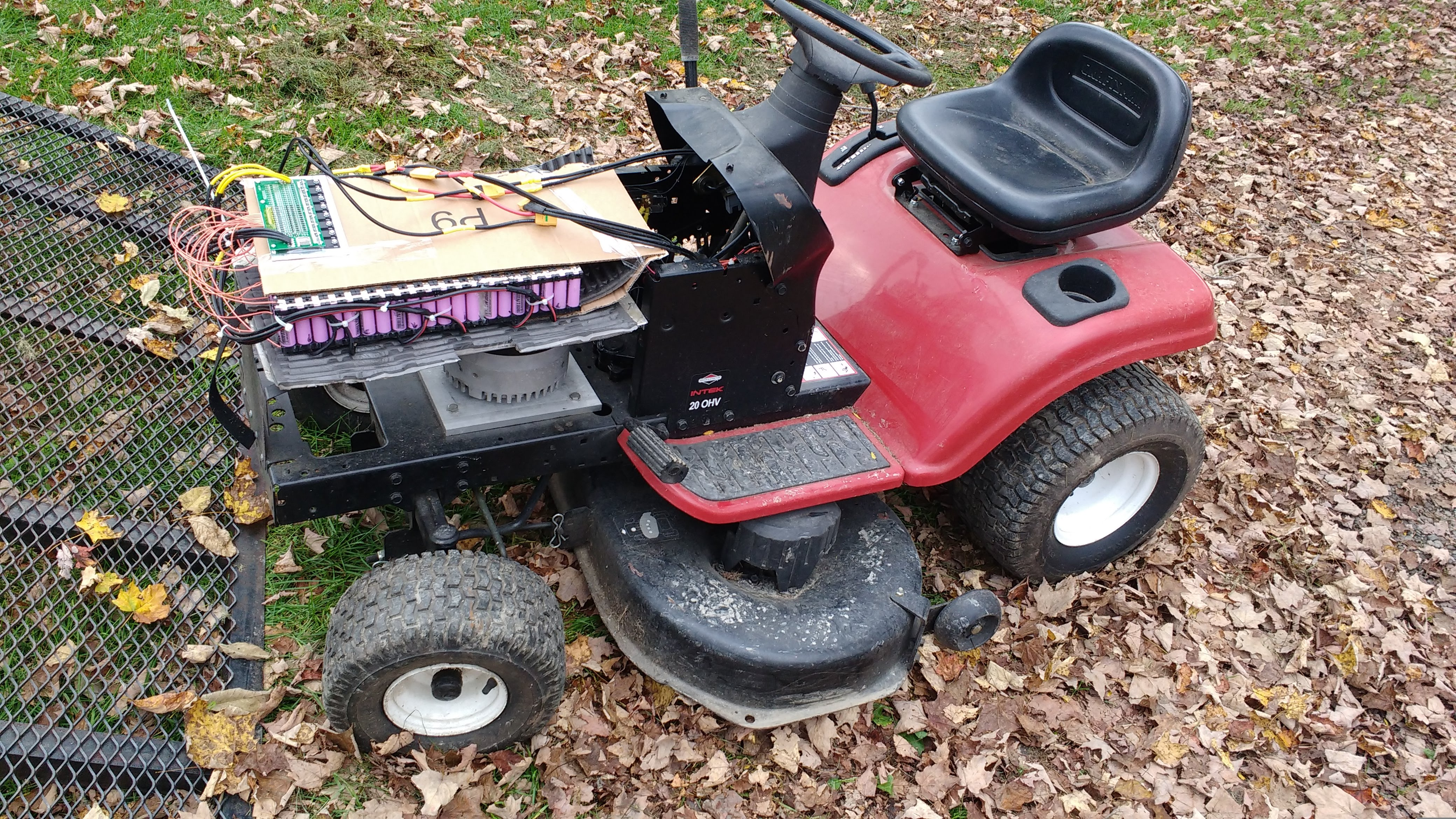Our Not-So-Amish Paradise : Building A 5000W Electric Lawn