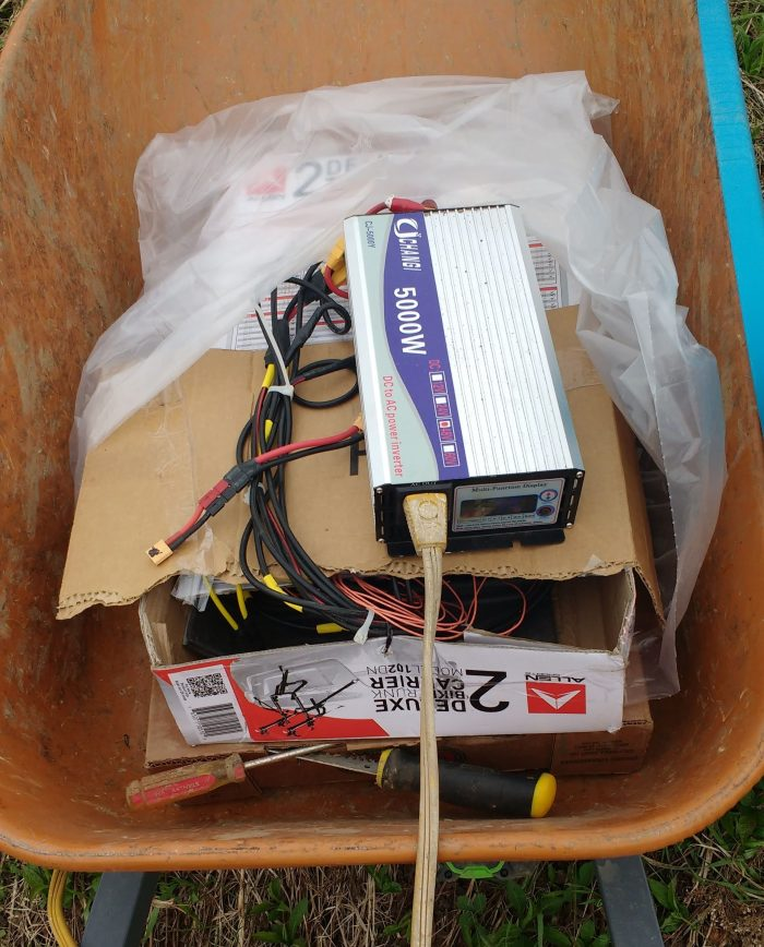 Use Your Ebike Batteries As A Portable AC Power Source With